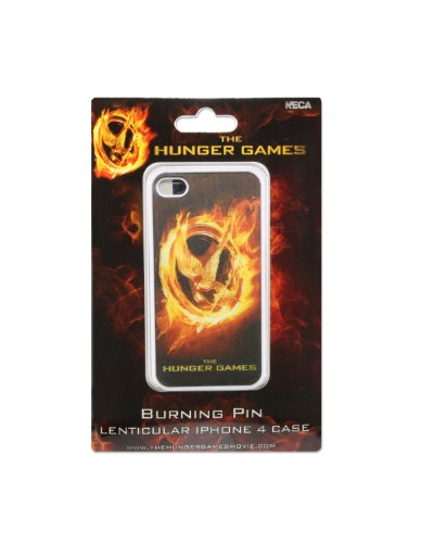 NECA The Hunger Games Movie Iphone 4 Case Lenticular Burning Pin