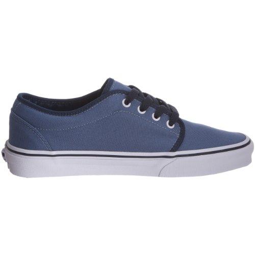 Vans 106 Vulcanised VKV3L7X - Zapatillas de ante para niños Azul