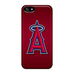 Iphone 5/5s Ixn4302kvXT Provide Private Custom Nice Los Angeles Angels Image Great Cell-phone Hard Covers -AnnaDubois