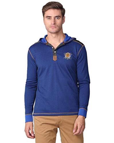 Stellers Full Sleeve Self Design Men Sweatshirt