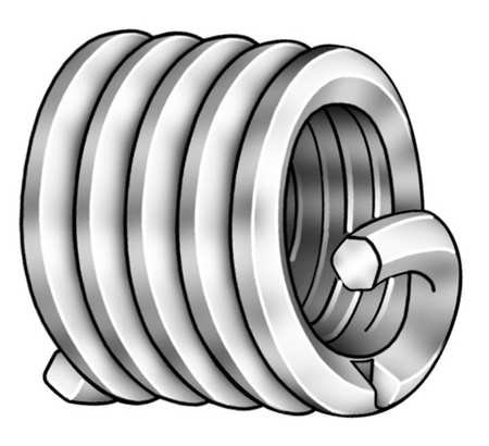 1 1//4-12 1.250 in L Helical Insert SS