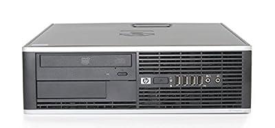 2018 HP Elite 6000 Small Form Factor Business Desktop Computer, Intel Core 2 Duo E8400 CPU 3.0GHz Processor, 4GB DDR3 Memory, 500GB HDD, DVDRW, Windows 7 Professional (Certified Refurbished)