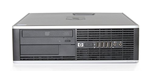 HP Elite Premium Small Form Factor High Performance Business Desktop Computer (Intel Core 2 Duo CPU 3.0GHz Processor, 4GB DDR3 Memory, 500GB HDD, DVDRW, Windows 7 Professional)(Certified Refurisbhed)
