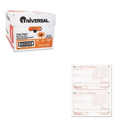 KITTOP22904KITUNV21200 - Value Kit - Tops Tax Forms/W-2 Tax Forms Kit with 24 Forms (TOP22904KIT) and Universal Copy Paper (UNV21200)