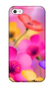 Cute Appearance Cover/tpu VxSnKWC5495XhkHN Flower S Case For Iphone 5/5s