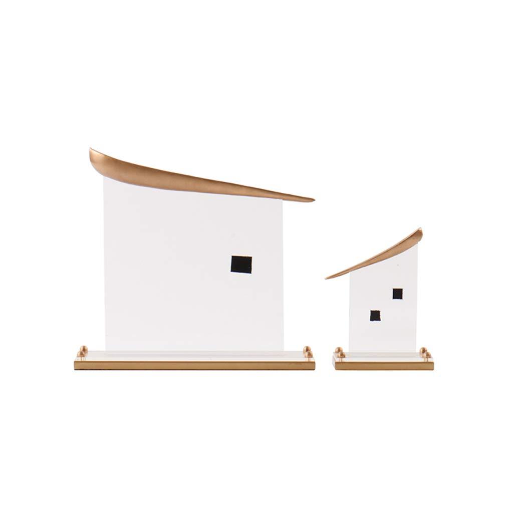 negozio di moda in vendita Statua QIQIDEDIAN Decorazione Artigianato Retro Semplice Living Living Living Room Decoration Cabinet Portico (colore   Uno Stile)  Garanzia del prezzo al 100%