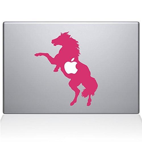【格安SALEスタート】 The Vinyl Decal B078986YJ7 Guru 0158-MAC-12M-BG 12 Bucking Horse Vinyl Sticker 12 Macbook Pink [並行輸入品] B078986YJ7, 阿久比町:de66658b --- senas.4x4.lt