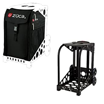 zuca sport wheeled luggage complete set with frame and insert bag color obsidian - Zuca Frame