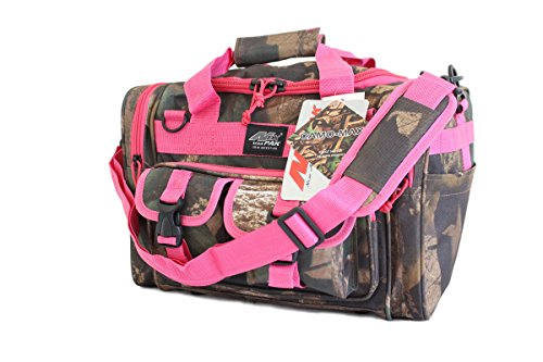 """Price comparison product image 15"""" Tactical Duffle Military Molle Gear Shoulder Strap Range BagTF115 DCPK Hunters Camo Pink"""