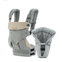 Ergobaby Bundle of Joy 360 Baby Carrier, Grey