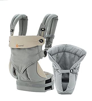 Ergobaby Four Position Bundle of Joy Baby Carrier, Grey