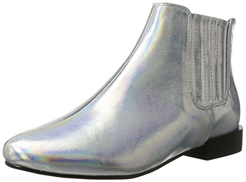 Bianco Metallik Chelsea Boots - Botines Chelsea Mujer plateado (silver)