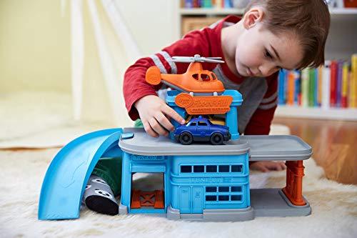 41iOwomT6pL - Green Toys Parking Garage