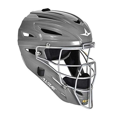 All-Star System 7 Adult Catcher's Helmet MVP2500 (Graphite) by All-Star