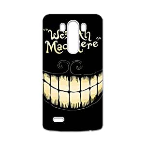 We Are All Mad Here Hot Seller Stylish Hard Case For LG G3