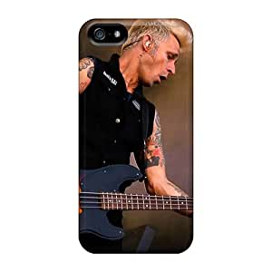 High Quality Mobile Case For Iphone 5/5s With Unique Design Vivid Green Day Band Series JohnPrimeauMaurice