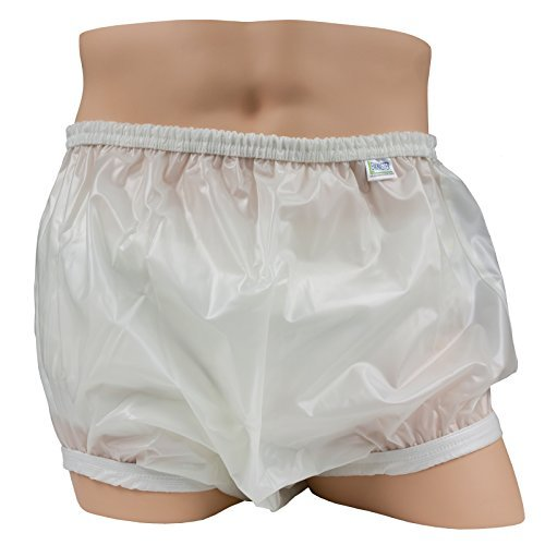 Leakmaster Deluxe Heavy Duty Adult Pullon Plastic Pants, X-Large fits 42-48 in