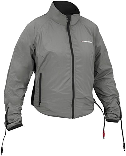 Firstgear 90-Watt Warm and Safe Women's Grey Heated Jacket Liner, S