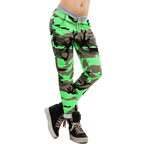 Harem Fluo Verde Para Toocool Pantalón Mujer pXxxIq