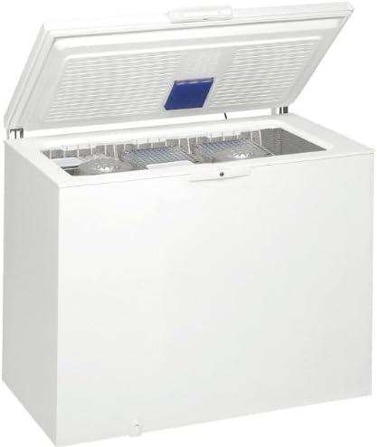 Whirlpool WHS1421 Autonome Coffre 133L A Cong/élateurs Coffre, 133 L, 13 kg//24h, SN-ST, A+, Blanc Blanc cong/élateur