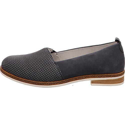 Remonte D2603-14, Zapatos De Mujer Azul Azul