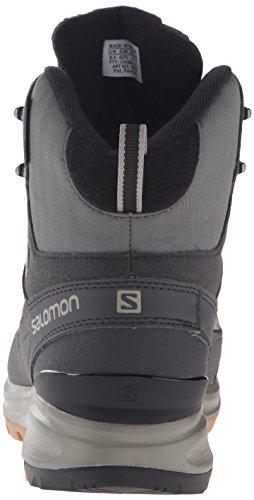 Salomon Mens Kaïpo Mid Cs Impermeabile 2-m Snow Boot Tempest / Asfalto / Titanio Scuro