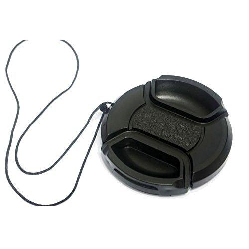 Dengpin 37mm Camera Lens Cap for Panasonic DMC-GX1 GX7 GF5 GF6 GF7 GK X14-42 with a Holder Leash Rope