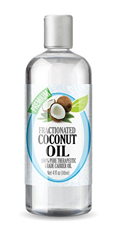 Naturic 100% Pure Fractionated Coconut Oil, 4 Oz