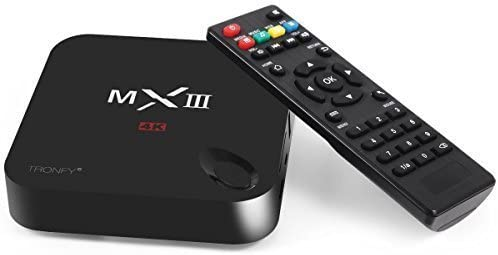 Streaming Media Player Smart TV Box tronfy Kodi 14.2 (XBMC) MX3 de G MXIII Pro S812 Google 4 K Gigabit 4 K Ultral HD Mini PC Internet Miracast DLNA Airplay WiFi HDMI