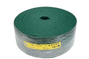 Klingspor 258886 - Hoja de lija (en rollo, NRO 400, 115 x 10000 mm, 1 unidad), color verde