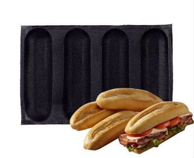 Silicone Bread Form Baguette Form French Bread Form (4C)