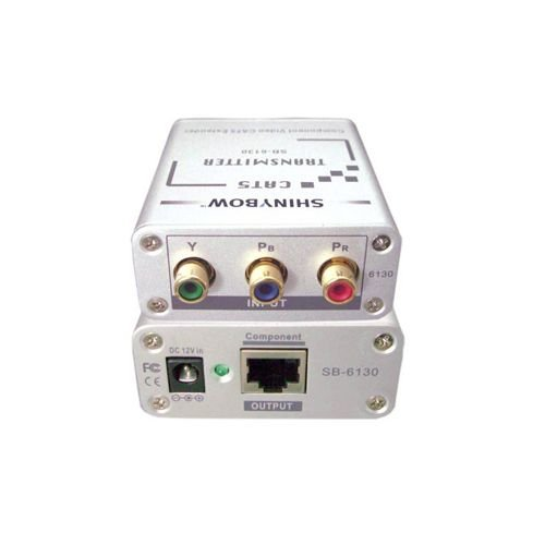 CAT5 - COMPONENT VIDEO (YPbPr) TRANSMITTER SB-6130T by Shinybow by Shinybow