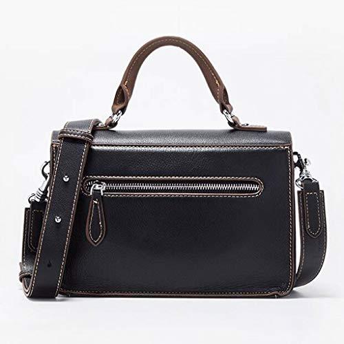 Spalla Size Regolabile Brown Da Dimensioni Borsa Donna Nero Daypack colore Tracolla A Ethba One Ux1fYw