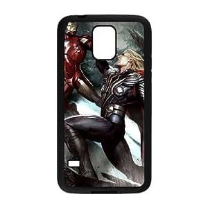 Samsung Galaxy S5 Cell Phone Case Black Iron Man V8385564