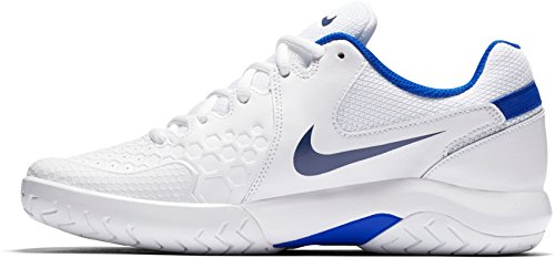Women's Tennis Resistance White Zoom Air Nike Blue Shoes US a1CPPqwZ
