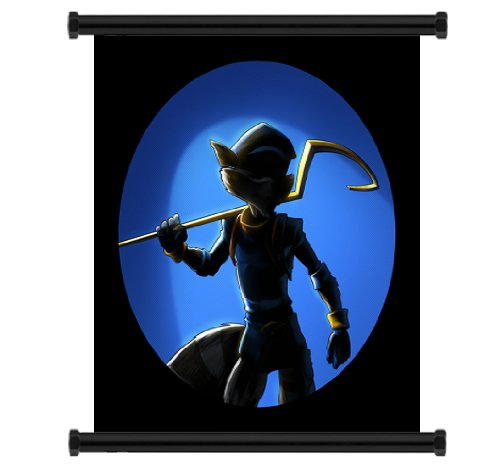 Sly Cooper Thieves in Time Game Fabric Wall Scroll Poster  I