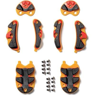 Srs Dragon (Sidi SRS Older Dragon Cycling Shoe Replacement Soles Black/yellow/orange- 38-40)