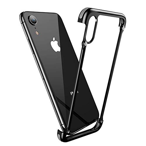 OATSBASF Bumper Case for iPhone XR, Aluminum Utral-Thin Corner Cover Minimalist Bumper Case for iPhone XR 6.1-inch