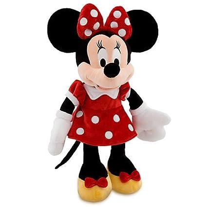 Amazon Disney Minnie Mouse Plush Red Medium 19 Inch Toys
