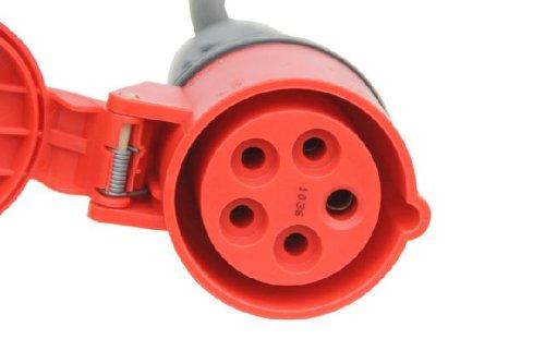 Elektromaterial Kabel Cee Starkstromkabel 32a 15m Verlängerungskabel 5x6mm² Kunden Zuerst