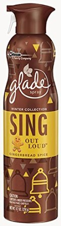 4 Glade Winter Collection Sing Out Loud Gingerbread Spice