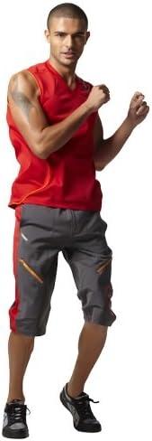 Zumba Fitness Mens Performance Breakthru Cargo Shorts