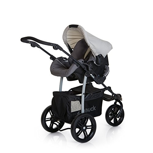 3 Wheel Pushchair From Birth Up To 25 Kg Buggy With Lying Hauck Viper SLX