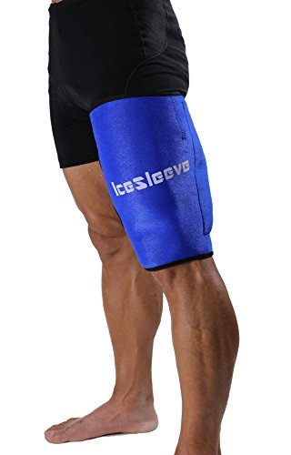 IceSleeve BLUE Hamstring Compression Therapy product image