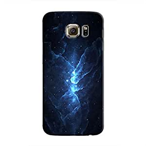Cover It Up - Blue Stars Galaxy S6 Hard Case