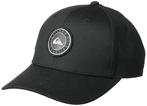(Quiksilver Boys' Big Decades Plus Youth Trucker HAT, Black, 1SZ)