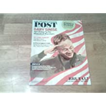 """The Saturday Evening Post September/October 2013 Gary Sinise Speaking up for Wounded Warriors (My Pink Ribbon/Live Forever/Gorgeous Hudson River Valley/Remembering JFK/World's Teensiest Gardens/School in Crisis/Navy Seals """"Hell Week"""")"""