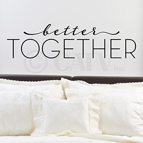Better Together Vinyl Lettering Wall product image