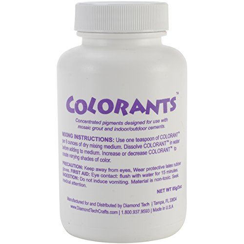 Colorants 3-Ounce Charcoal Cement and Grout Pigment, Black ()