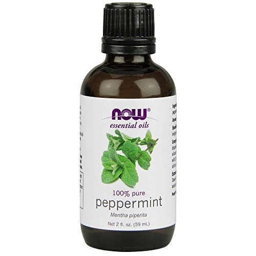 (NOW Essential Oils, Peppermint Oil, 2-Ounce)